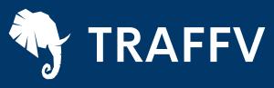 Traffv logo with background